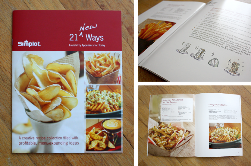 Recipe Book Brochure